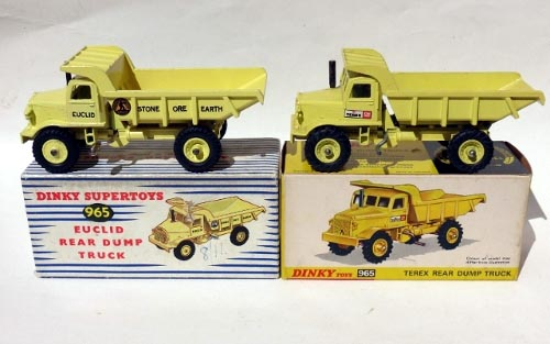 965 Terex Rear Dump Truck (1969-70) | DTCA Website