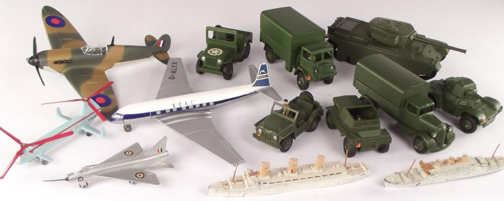 Dinky Toys - Aircraft, Army, Ships