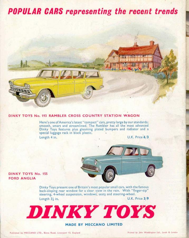 193 Rambler Cross Country Station Wagon 1961 68 Dtca